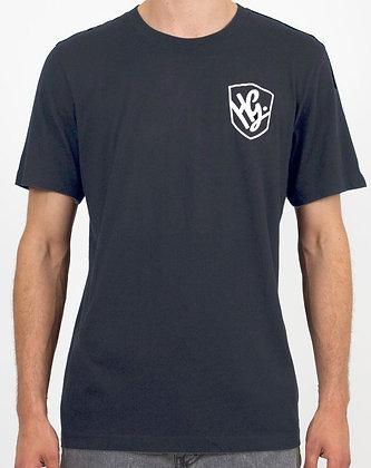 HG Splash Logo On Back T-shirt - Black