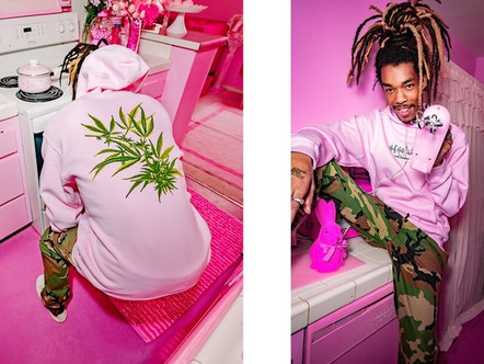 """HUF SHOW OF THE """"Hotel Smokers Lounge 420"""" COLLECTION"""