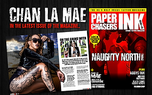 CHAN LA MAE JUMPS IN THE LATEST ISSUE OF THE MAG