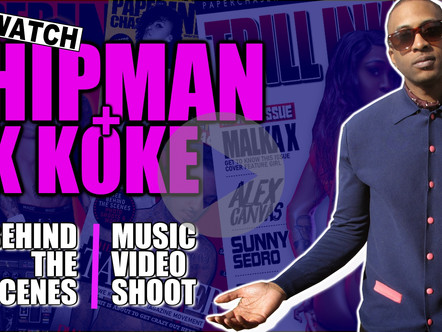 WATCH: Behind the scenes @ Hipman Junky ft K Koke ''HOLD ON'' Shoot
