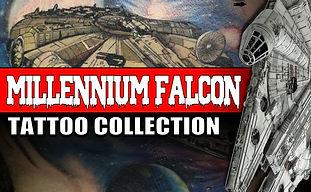 MILLENNIUM FALCON   STAR WARS TATTOOS