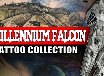 MILLENNIUM FALCON | STAR WARS TATTOOS