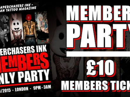 PARTY TICKETS ON SALE