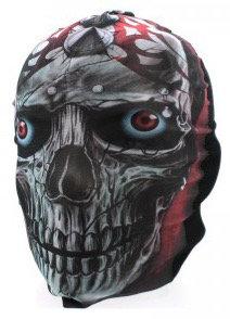 Crazy Skull   Biker Mask