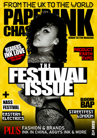PAPERCHASERS INK - ISSUE 8, MAGAZINE COV