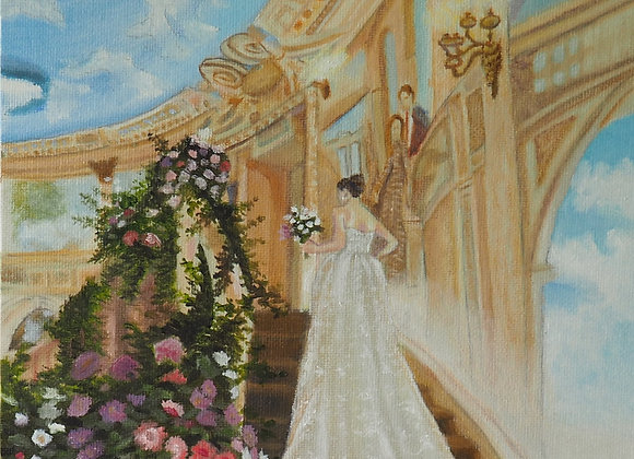 Bridal Portrait of Brynn