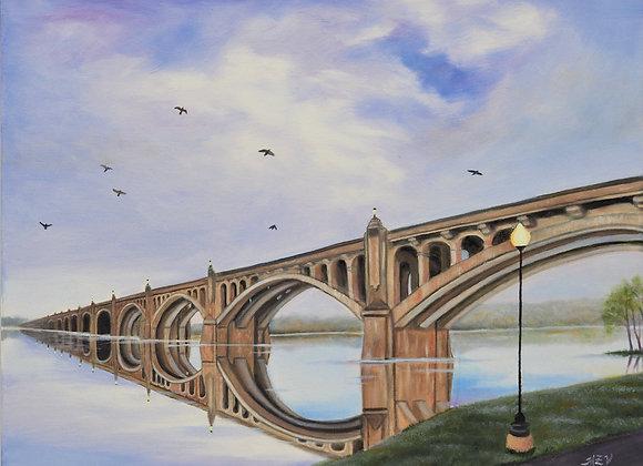 Mile Long Bridge Over the Susquehanna  River