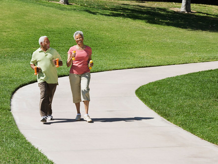Get In Your Thirty Minutes Of Daily Walking-Indoors Or Outdoors.  Just Do It!