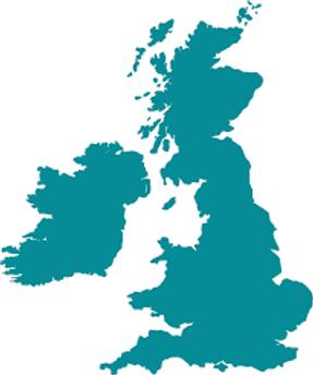 uk distributors map