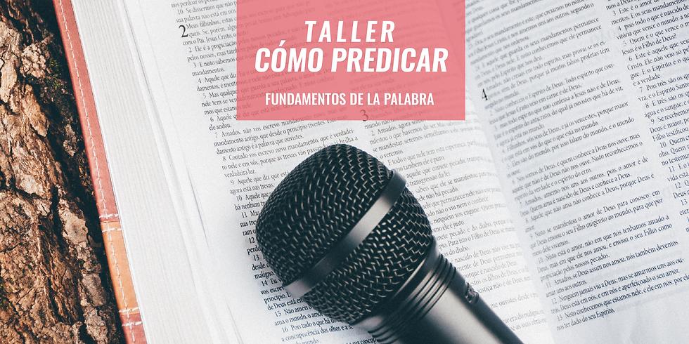 Taller - Cómo predicar