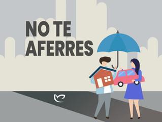NO TE AFERRES