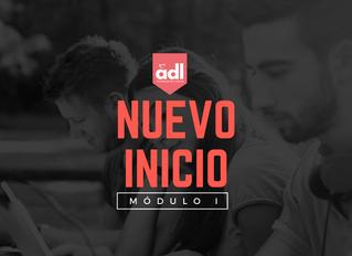 Nuevo inicio Módulo I - ADL
