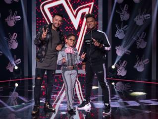 Alex Campos y Redimi2 en La Voz Kids Colombia.