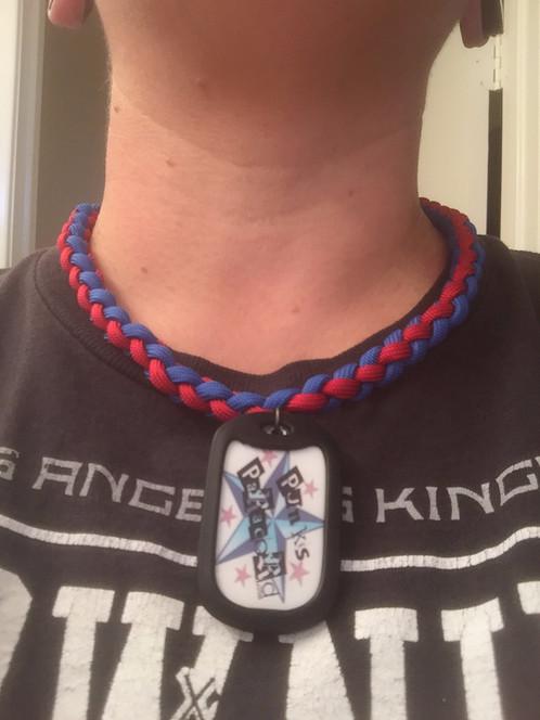 Punk's Paracord Necklaces