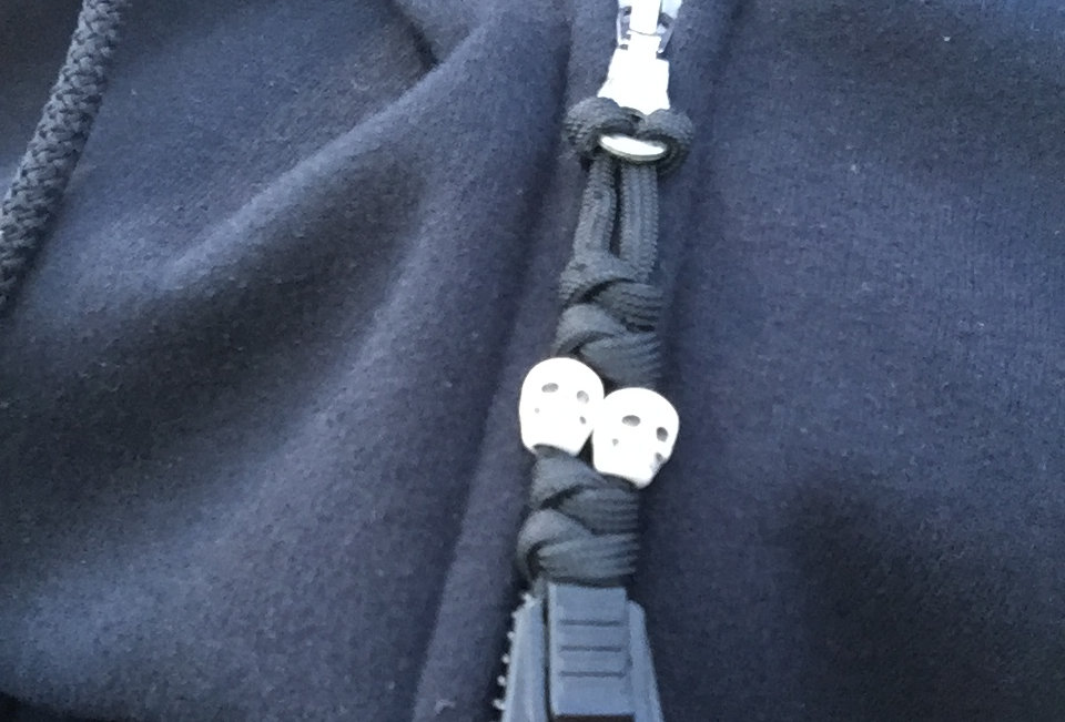 Skull Zipper Pulls