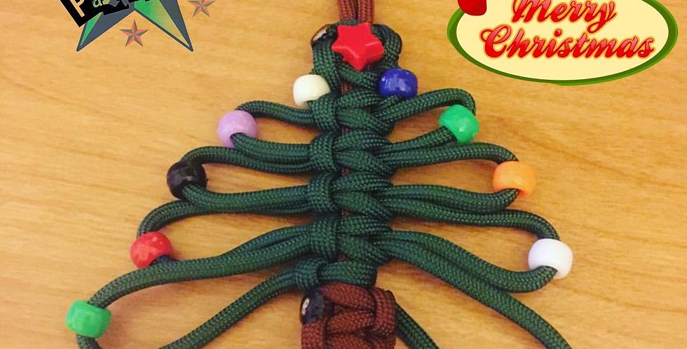 Paracord Tree Ornament