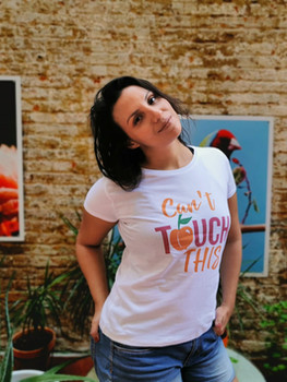 Camiseta cant touch this anchi twerk