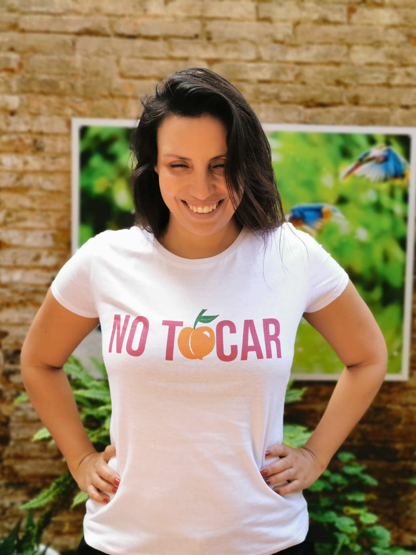 Camiseta No Tocar Anchi