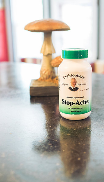 Dr. Christopher's Stop-Ache Capsules