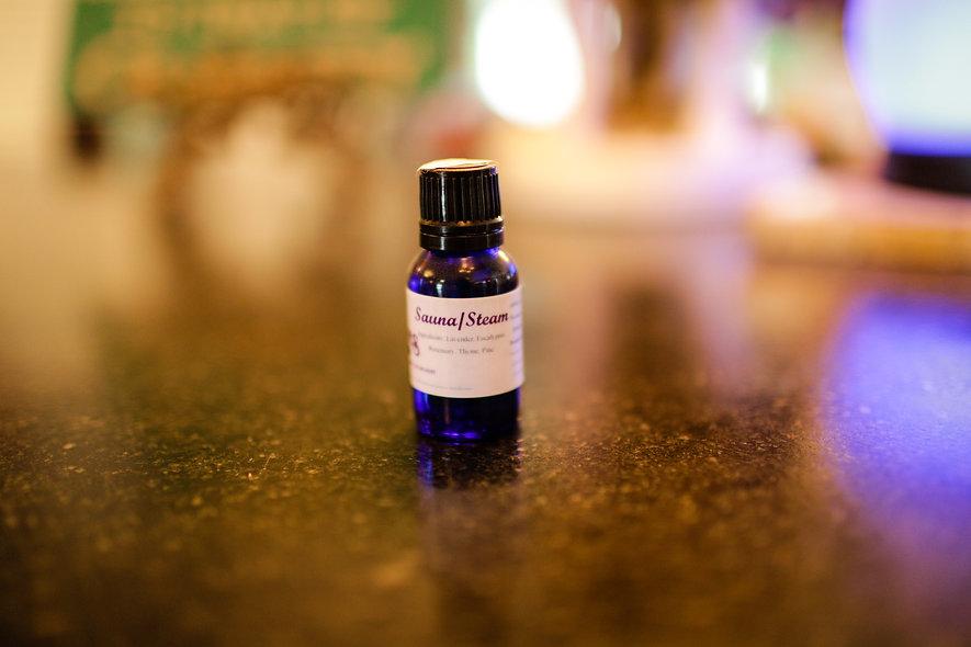 Sauna/Steam Blend Essential Oil - 15ml
