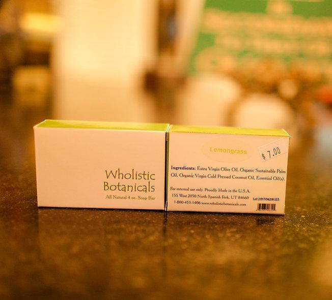 Wholistic Botanicals Bar Soap -Lemongrass