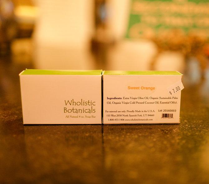 Wholistic Botanicals Bar Soap - Sweet Orange
