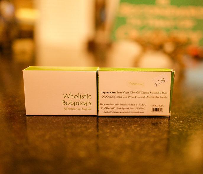 Wholistic Botanicals Bar Soap - Peppermint