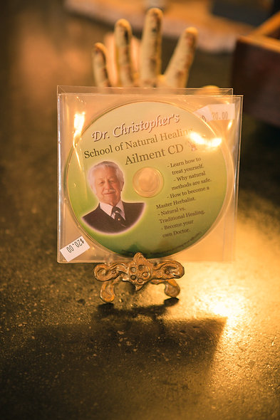 Dr. Christopher's School of Natural Healing Ailment CD
