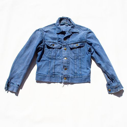 DISTRESSED JEAN JACKET LEE