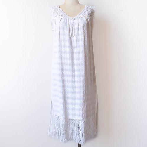 VTG WOVEN COTTON DRESS