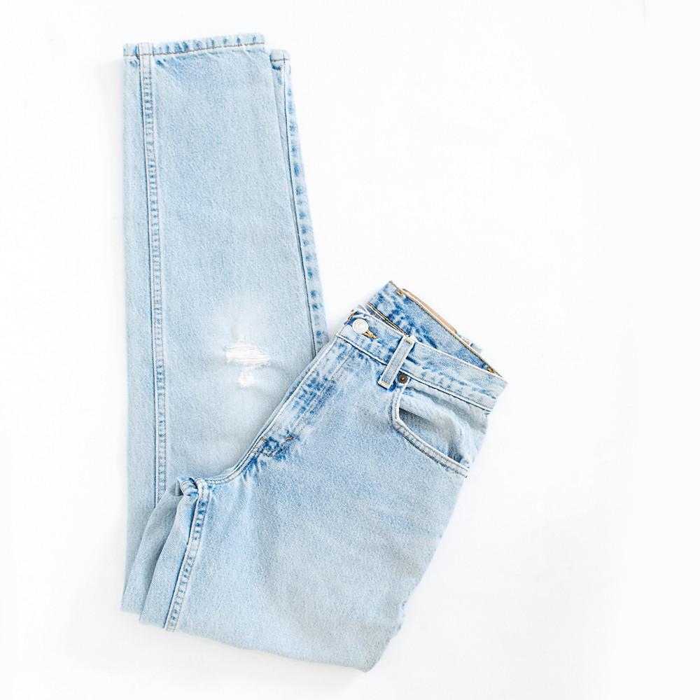 Vintage Distressed Levis Jeans