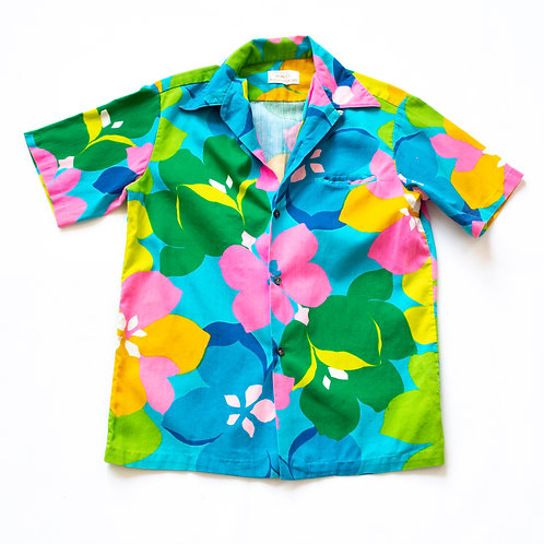 VINTAGE HAWAIIAN SHIRT S/M