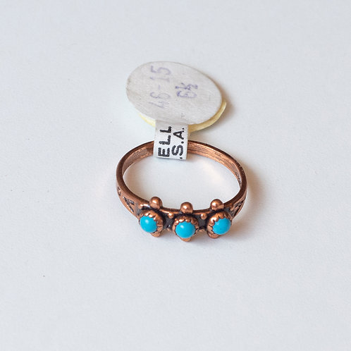 DEADSTOCK COPPER MIDI RING