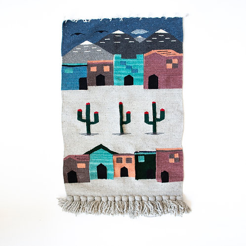 WOVEN WALL TAPESTRY