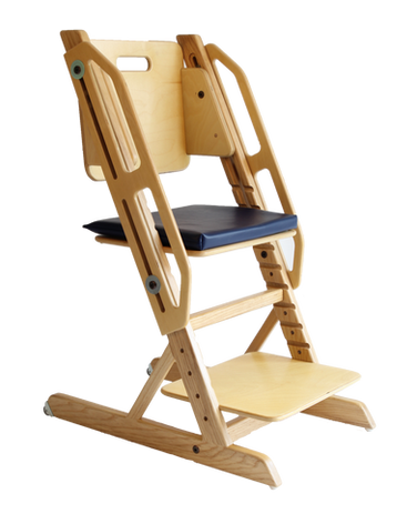 Standard ERGO chair 14 inches with height-adjustable grab bar