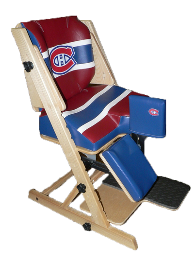 ERGO chair adapted to the color of the Montreal Canadiens * Non-standard adaptation
