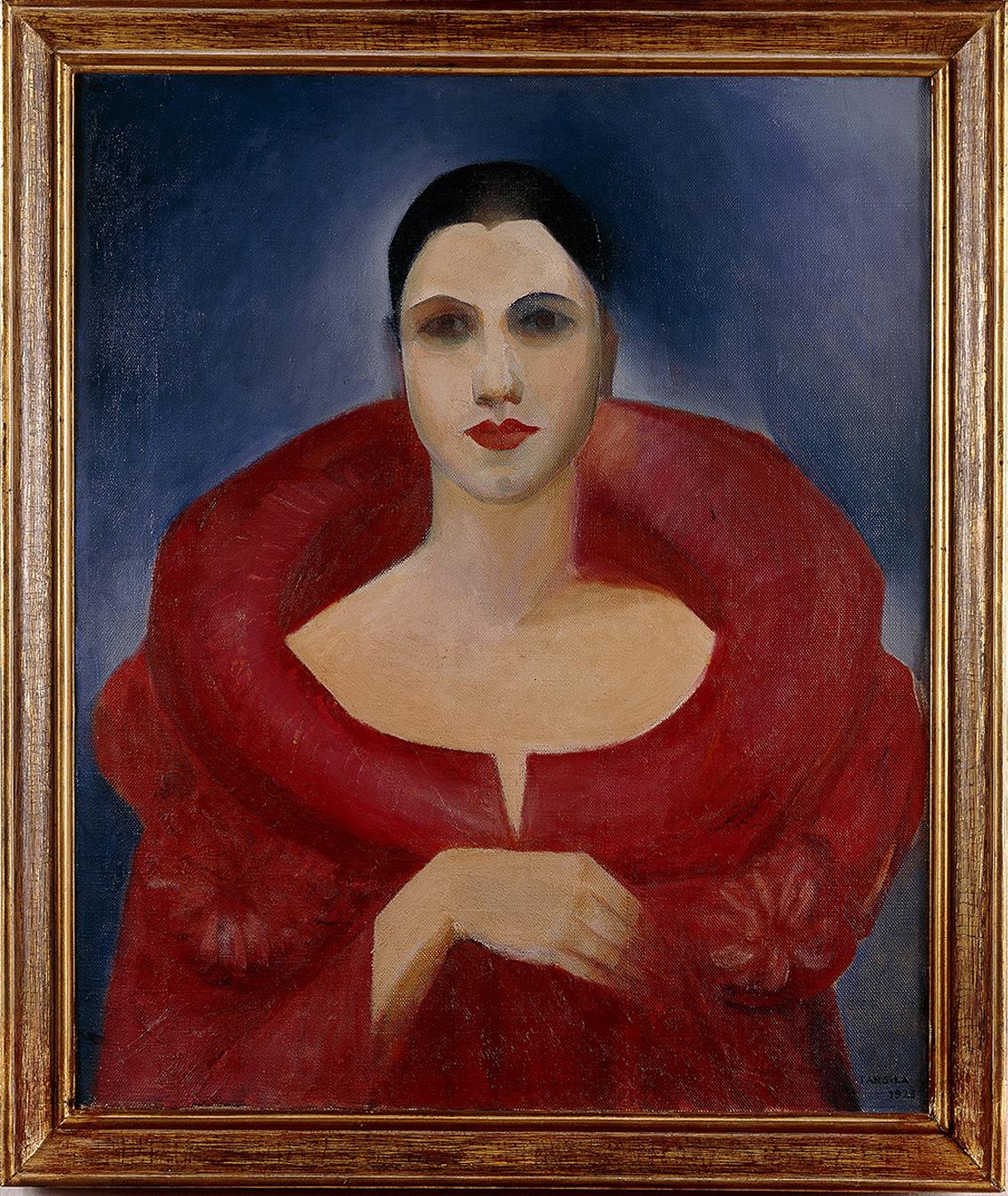 Autorretrato (Manteau Rouge)