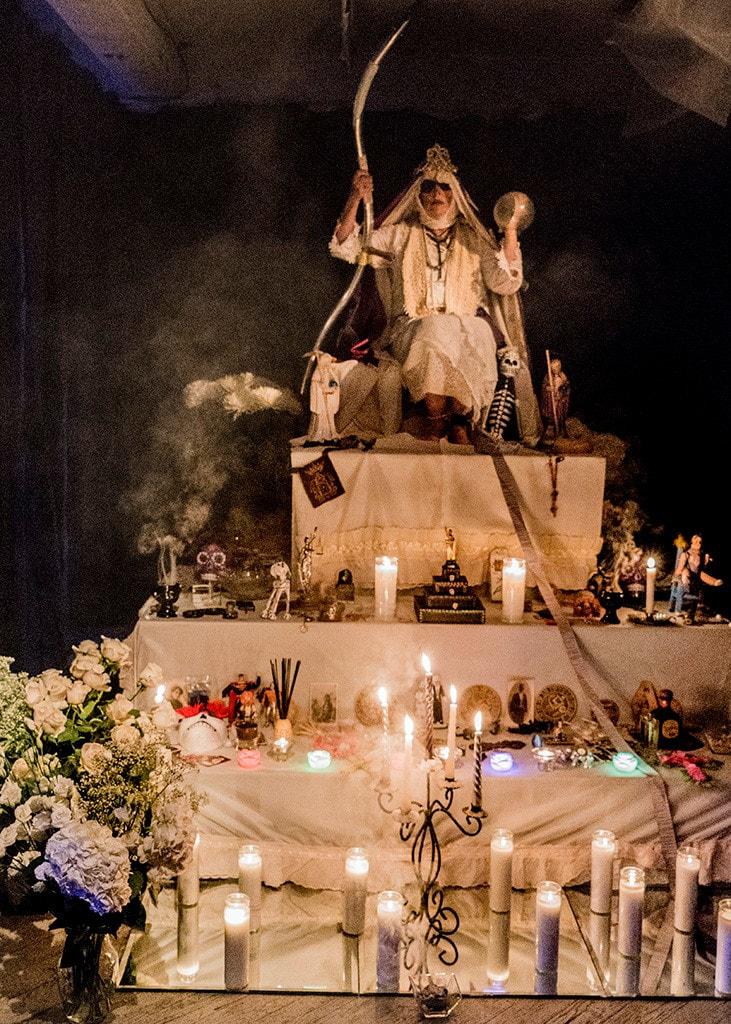 La Niña Blanca (santa muerte)