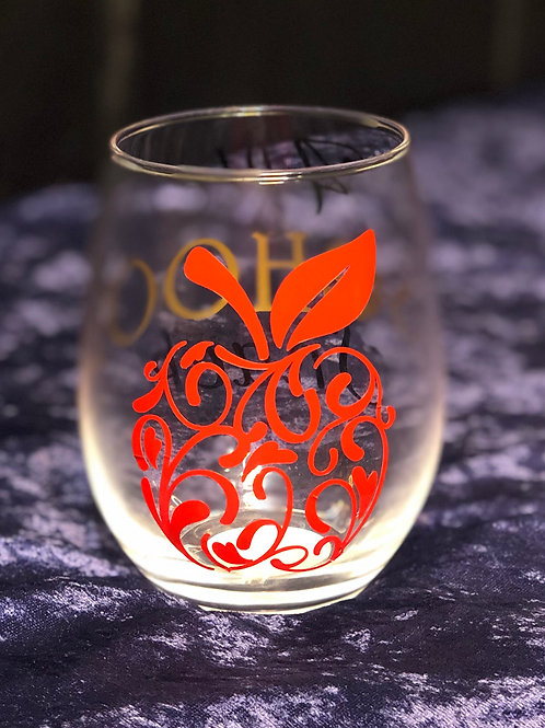 Custom Wine Glass