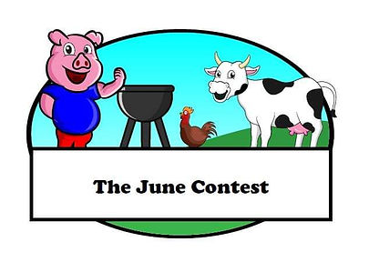The June Contest BBQ logo 2020