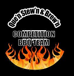 Que'n Stew'n & Brew'n Logo