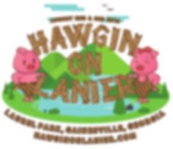 Hawgin On Lanier Logo