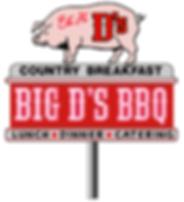 BIG D's BBQ Logo