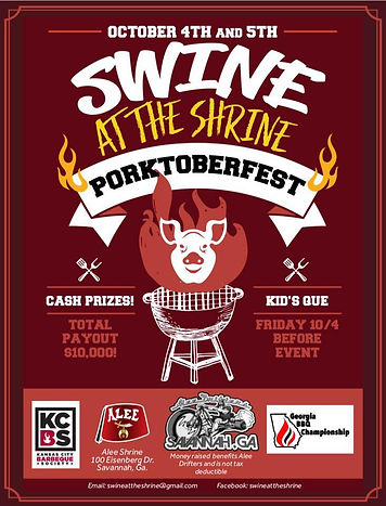 Swine At The Shrine Porktoberfest