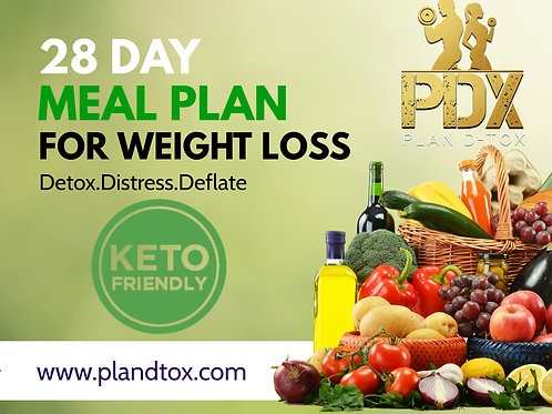 PDX 28 Day KETO Meal Plan