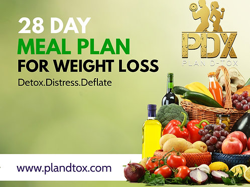 28 Day PDX MEAL PLAN