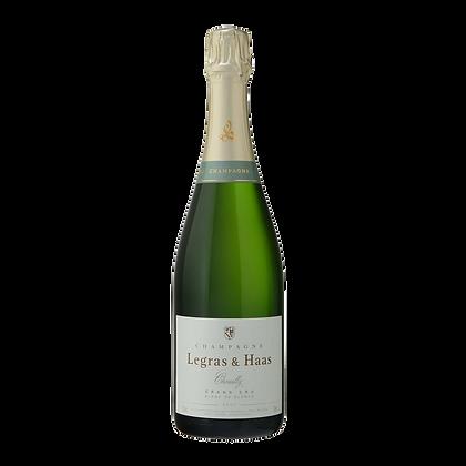 Champagne Legras & Haas 'Blanc de Blancs Grand Cru Extra Brut' SA