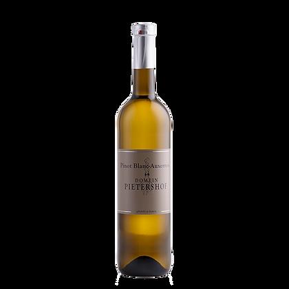 Domein Pietershof Pinot Blanc-Auxerrois 2018