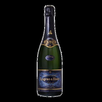 Champagne Legras & Haas Blanc de Blancs Grand Cru Millésimé' 2011
