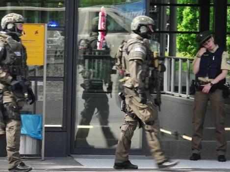 Munich shooting: Four hurt at suburban railway station